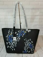 DKNY  Top Zip Tote Black  Saffiano Leather  New with Tag (Please see Photo)