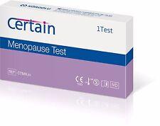 Kit de prueba de la menopausia determinados para uso en el hogar la fertilidad femenina (entrega 1 días)