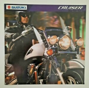 Suzuki 2002 Sales Brochure Cruiser Imtruder Savage Marauder Catalog