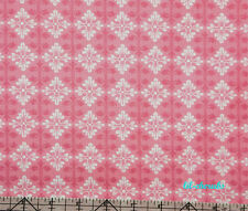 Free Spirit Tanya Whelan Darla Ditty Pink French Wallpaper Fabric