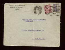 MARITIME 1926 FRANCE COLS.TUNISIA COVER...PAQ + STATION