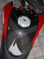 Copri serbatoio carbonio per Ducati Hypermotard parte centrale  TANK COVER