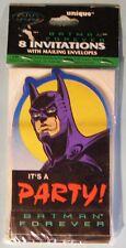 Batman Forever Invitation Cards