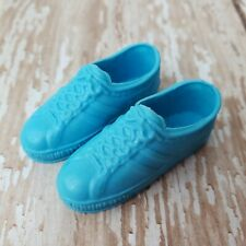Vintage Ken Blue Tennis Shoes #1404 Fashion Favorites 1980 Taiwan Sneakers MINTY