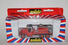 Solido 1950's GMC Fire Dept Compressor Tank Truck, Boxed