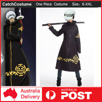 One Piece Trafalgar Law Coat Hat 2 years later OP Cosplay Costume Tailored