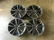 "18"" VW Golf R Pretoria Style Alloy Wheels Gloss Gun Metal Golf MK5 MK6 MK7 MK7.5"