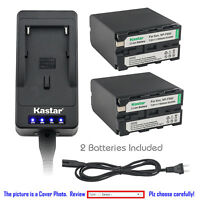 Kastar Battery Super Charger for Sony NP-F990 CCD-TR290 CCD-TR300 CCD-TR311