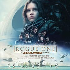 ROGUE ONE A STAR WARS STORY OST 2 LP VINYL ALBUM (Released April 14th 2017)