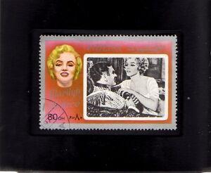Tchotchke Framed Stamp Art - Collectible Postage Stamp Marilyn Monroe
