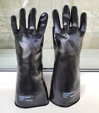 Black Industrial Rubber Gloves gr. L