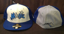 Orlando Magic New Era 59FIFTY Fitted Hat NBA Throwback Blue/White/Grey Size 7