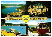 Gruss vom Edersee und Schloß Waldeck  , Ansichtskarte