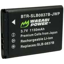Wasabi Power Battery for Samsung SLB-0837B