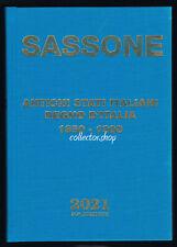 SASSONE ANTICHI STATI ITALIANI I FRANCOBOLL 2021 CATALOGO FRANCOBOLLI ITALIANI