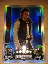 Force Attax Star Wars Serie Movie 3 Force Meister 226 Han Solo Sammelkarte