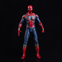 7'' Iron Spider-man Action Figure Marvel Avengers 3 Infinity War Spider-Man Toy