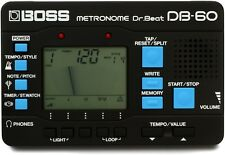 Boss DB-60 Dr. Beat Metronome w/Patterns
