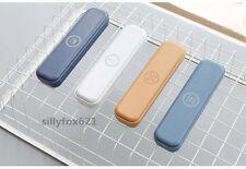 SMART semplicistico Plain H qualità ufficio stazionario in Metallo TIN BOX ASTUCCIO UK