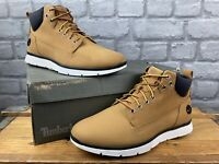 TIMBERLAND MENS KILLINGTON WHEAT CHUKKA BOOTS BLACK BADGE RRP £110 T
