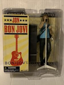 Jon Bon Jovi Action Figure New 2007 McFarlane Toys Amricons Rare Collectors