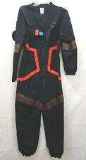 Spirit  Fortnite Video Game Coveralls Costume  Black - Adult Medium Dark Voyager