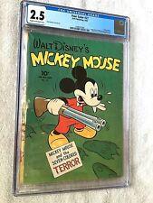 Walt Disney's Mickey Mouse Four Color #27 Dell 1943 CGC 2.5 cream/off-white pgs