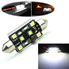 Canbus 42mm 15W 2-CREE 4-LED 3528 SMD Festoon License Plate Light White Lamp