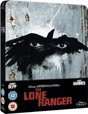The Lone Ranger Limited Edition SteelBook [Blu-ray, Region Free, 1-Disc] NEW