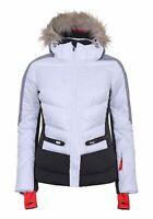 Icepeak Damen Freizeit-Ski-Jacke Trendige Jacke Electra weiß