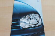 131581) VW Golf IV + Variant - Sport Edition - Prospekt 09/2000