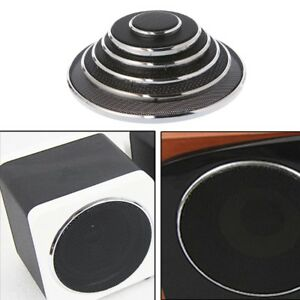 2 Pcs 1/2/3/4/5/6.5 Inch Speaker Steel Mesh Round Grill Protective Cover Circle