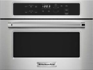 """*NEW* KitchenAid KMBS104ESS 24"""" Built-In Microwave (Stainless steel) *NEW*"""