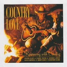 COUNTRY LOVE = {CD - 20 TRACKS V/A} = FARON YOUNG BOBBY BARE GEORGE JONES +++  =