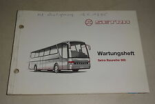Wartungsheft / Serviceheft blanko Kässbohrer Setra Bus Baureihe 300 Stand 3/1995