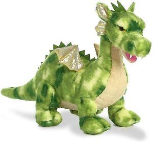 """Aurora - Dinos & Dragons - 18"""" Vollenth The Green Children's Fairy Tales Plush"""