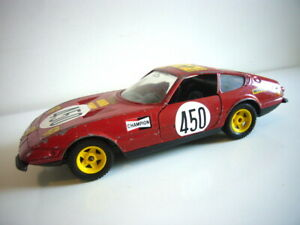 Polistil: Ferrari 365GTB/4 Daytona, 1970s, 1:25 scale, very good, made in Italy