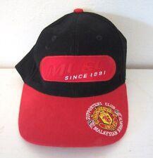 MUSC Manchester United Football (Soccer) Malaysian Branch Baseball Hat Cap
