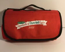 Disney The Osborne Family Spectacle Of Dancing Lights 2015 Red Large Blanket New