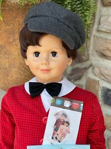 "Ashton Drake Peter Playpal 37"" Doll  Vintage New Discontinued"