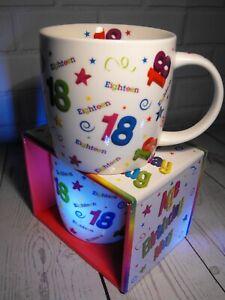 18TH BIRTHDAY GIFT PRESENT 18TH BIRTHDAY MUG GIRLS OR BOY GIRL BOY 18TH BIRTHDAY