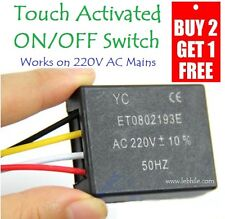E16 Touch Sensitive Automatic Switch, Touch Switch Sensor, Works on AC 220V