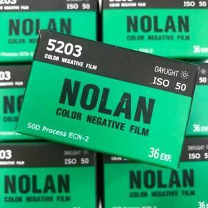 1 Pack of Kodak 5203 Vision3 50D Color Negative Film (Christopher Nolan packing)
