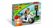 LEGO Duplo 5679 Motorradpolizist # Motorrad Polizei NEU OVP