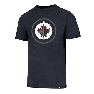 NHL T-Shirt Winnipeg Jets Club navy 47 Brand Eishockey Logo