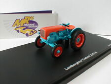 """Schuco 09028 - Traktor Lamborghini Trattori 2241 R in """" blau - orange """" 1:43 NEU"""