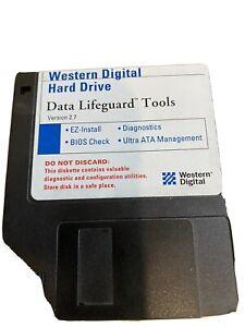 Western Digital Hard Drive 2001 Version 2.7 Data Lifeguard Tools Diskette