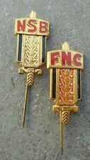 BELGIQUE & LUXEMBOURG: FED. NAT. DES ANCIENS COMBATTANTS - INSIGNES