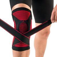 New kuangmi Bandage Knee Patella Support Brace Pad Sports Protector Compression