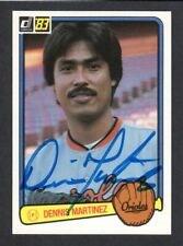 1983 DONRUSS #231 Dennis Martinez  BALTIMORE ORIOLES  SIGNED AUTOGRAPH AUTO COA